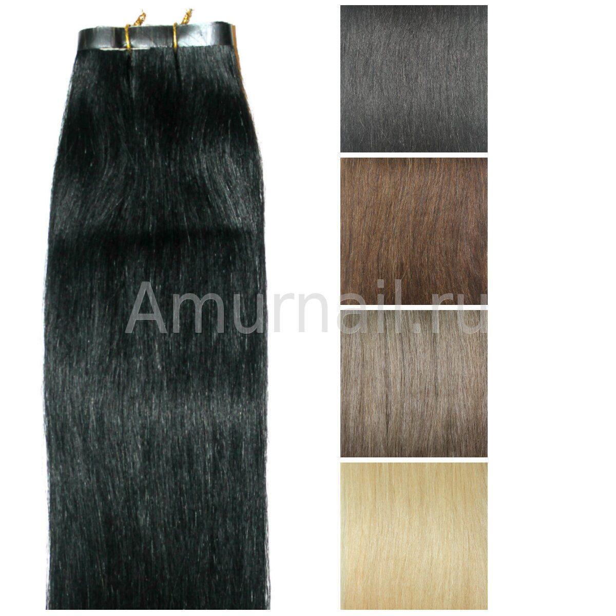 Волосы 70 см на лентах