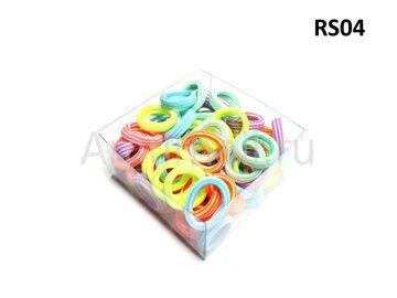 Резиночки для волос RS-Series (80 штук в коробчке) RS04 1