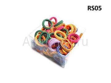 Резиночки для волос RS-Series (80 штук в коробчке) RS05 1