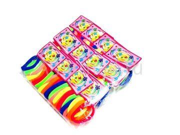 Набор цветных резиночек МЕГА 72 шт (D4 см) 3
